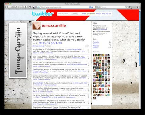 twitter layout for powerpoint 40 tools to spice up your twitter background hongkiat