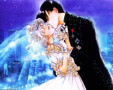 images of love kiss without dress anime series sailor moon couple kiss love romantic dress