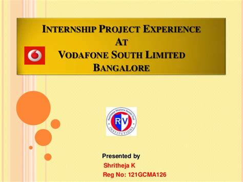 Internship Projects For Mba Students by Summer Internship Project Presentation