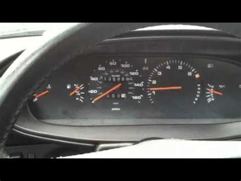 porsche 944 gauge cluster on start youtube