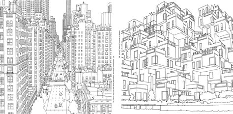 d mcdonald designs coloring book 2017 books an extremely detailed coloring book for architecture