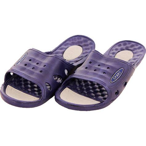 mens shower sandals mens vented cushion sandals slip on flip flop sport slide