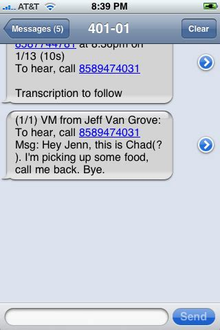 Never Listen To Another Voicemail Again With Spin My Vmail by Visual Voicemail 3 Options For Never Listening To Another