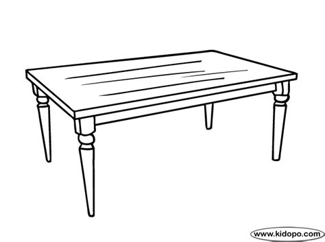 coloring table tables colouring pages sketch coloring page