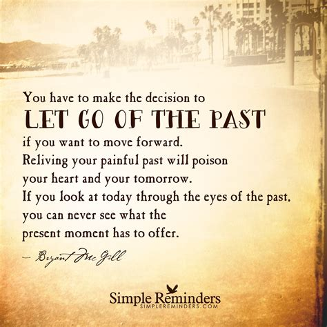 comment how to make up for your past health mistakes quotes about letting go of past quotes love