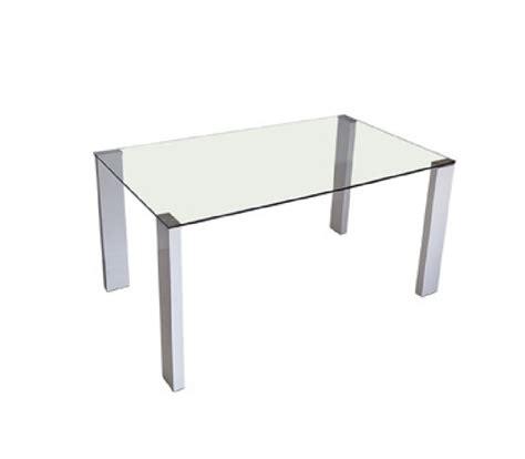 mesas de comedor cristal mesa comedor cristal patas blancas chollo mueble