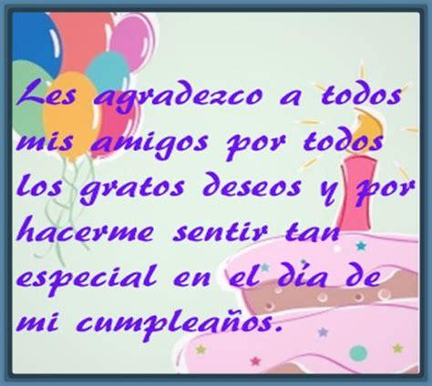 imagenes para agradecer x mi cumpleaños frases de agradecimiento amigos para descargar imagenes