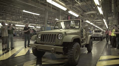 Jeep Factory Jeep 174 75th Anniversary 75th Salute Concept Wrangler