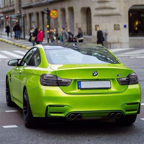 green bmw m4 bmw m4 bmw m series bimmer green cars custom