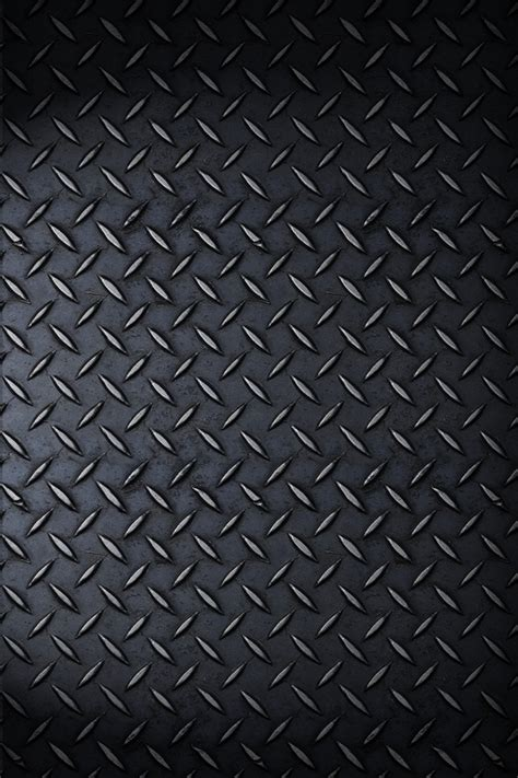 Iphone Metal Wallpaper re rendered iphone 4 metal wallpaper