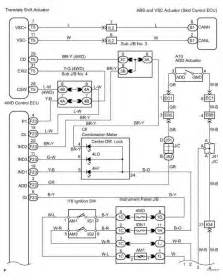 Toyota Wiring Diagrams 2002 Toyota Sequoia Wiring Diagram Toyota Sequoia 2006
