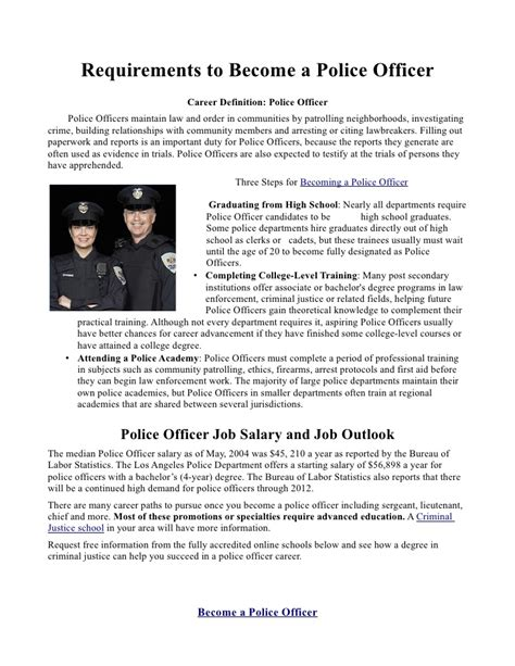 essay on why become a police officer coursework academic service