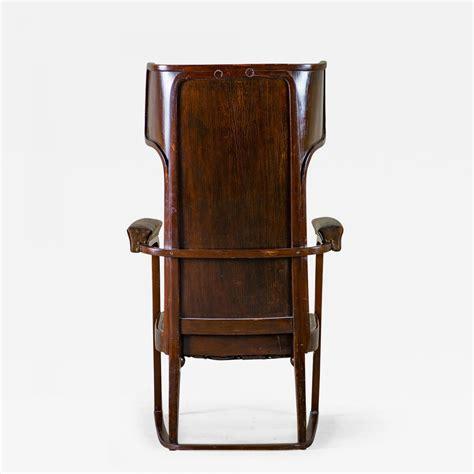 josef hoffmann chair josef hoffmann josef hoffman ohrenbackensessel chair