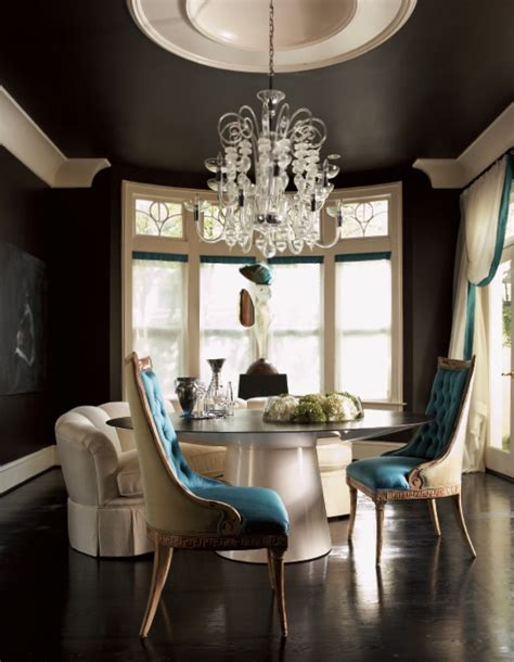 black painted room dwellers without decorators black painted ceiling total impact