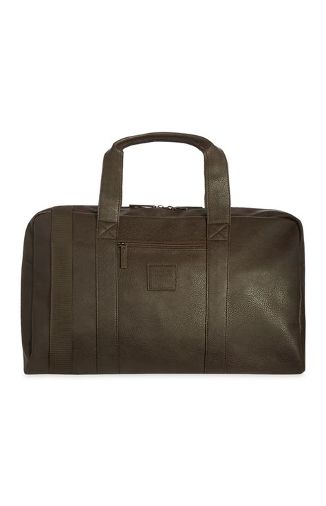 Large Printed Holdall From Primark by Yet Another Easy Primark Brown Weekender Bag