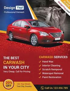Car Wash Flyer Template by 25 Best Ideas About Car Wash Services On Car