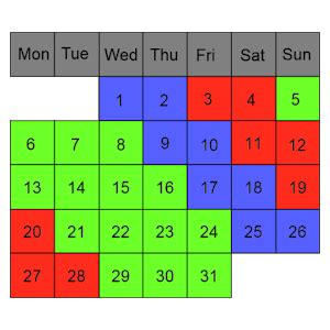 pattern android exle shift work calendar android apps on google play