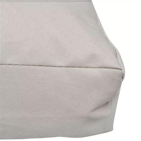 cuscino 80x80 cuscino imbottito per sedia 80 x 80 x 10 cm colore sabbia