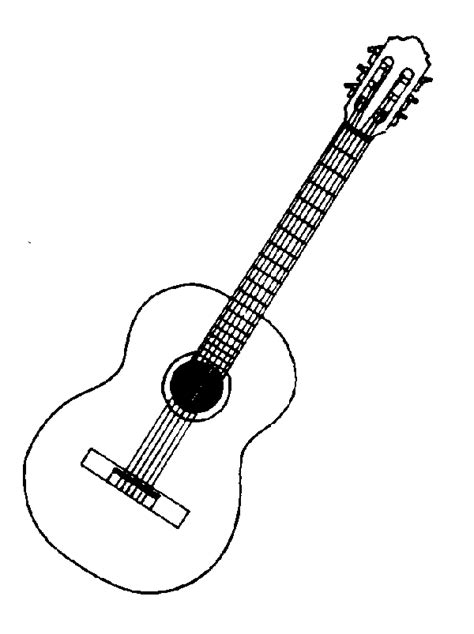 Guitar Clipart Outline by Guitar Pictures Cliparts Co