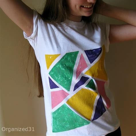 how to design a shirt using paint great kids crafts for summer fun amy latta creations