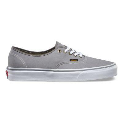 Vans Authentic Grey Premium surplus authentic shop classic shoes at vans