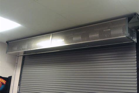 overhead door air curtain overhead door curtains details of aluminum silver