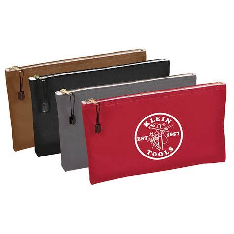 canvas zipper tool bag klein tools 5141 zipper bags canvas 4 pack free