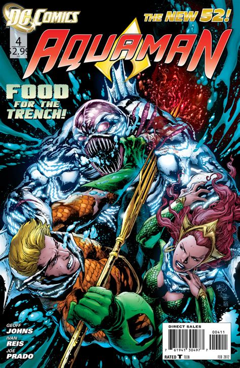Aquaman Vol 1 The Trench The New 52 Graphic Novel Ebooke Book nycc 2013 exclusive ivan reis of justice
