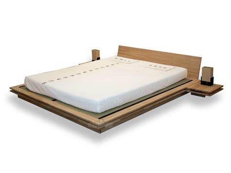 tatami mat bed tatami wooden double bed toki by cinius