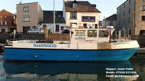 fishing boat charter weymouth peace plenty iii weymouth angling charter boat has a new