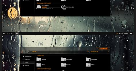orange themes for windows 10 orange dark alt theme for windows 10 anniversary update