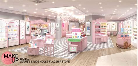 Shoo Etude make up etude house store harajuku unitedkpop