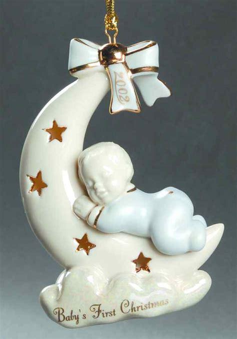 lenox baby s first christmas ornament 2002 boy 3905078 ebay