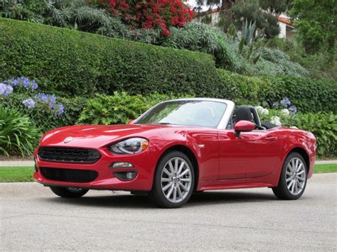 fiat spider vs miata 8 ways the fiat 124 spider differs from the mazda miata