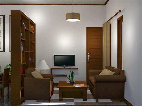 contoh gambar desain interior ruang tamu minimalis sederhana  modern desain rumah perumahan