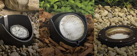 landscape well lights low voltage and high voltage led well lights