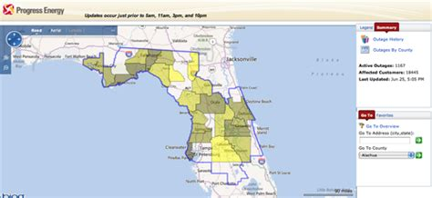 duke power report light out energy power outages info4disasters