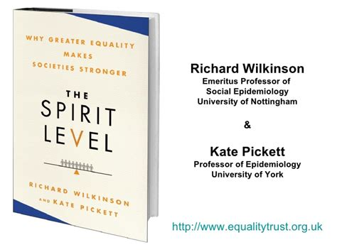 the spirit level why greater equality makes societies stronger 9781608193417 kate pickett quot the spirit level why greater equality makes societies stronger quot