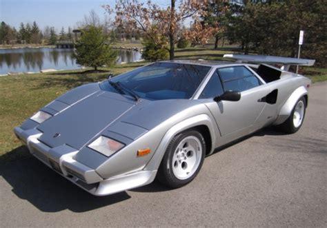 1982 Lamborghini Countach For Sale Bat Exclusive 1982 Lamborghini Countach Factory Fuel