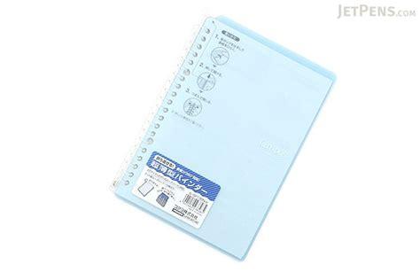 Binder A5 20ring A24 kokuyo cus smart ring binder notebook a5 20 rings light blue jetpens