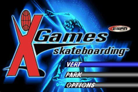 emuparadise up to down espn x games skateboarding u mode7 rom