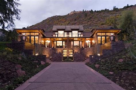 contemporary mountain home plans contemporary mountain home in aspen