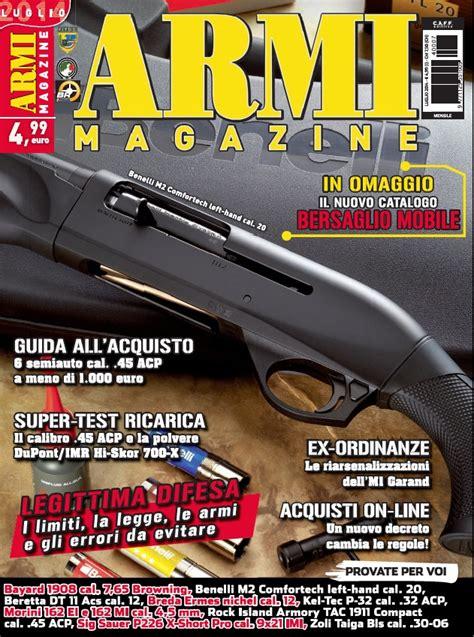 armeria bersaglio mobile catalogo armi magazine luglio 2014 232 in edicola con un regalo