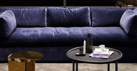 Pictures Of Home Interiors Hay Hackney Sofa Blue Velour Google Search Home