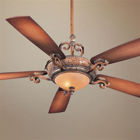 Napoli Ceiling Fan by 56 Quot Minka Aire Napoli Tuscan Patina Ceiling Fan