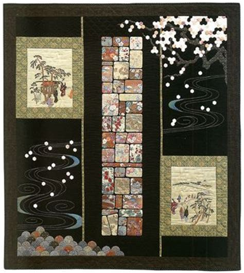Japanese Patchwork Patterns - 16 best images about large print fabric quilt ideas on