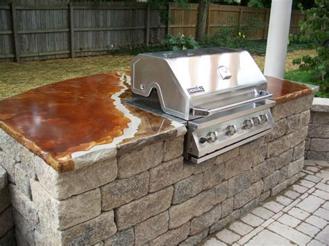 Outdoor Grill Countertop by Testimonials