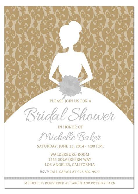 wedding shower invites diy bridal shower invitations diy bridal shower invitations exles invitations template