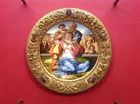 cornice tondo doni tuscany holidays galleria degli uffizi sala 35