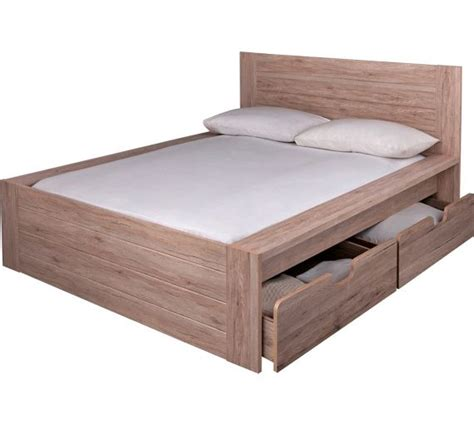 Bed Frames Seattle Buy Collection Seattle Kingsize 2 Drw Storage Bed Frame Warm Oak At Argos Co Uk Your